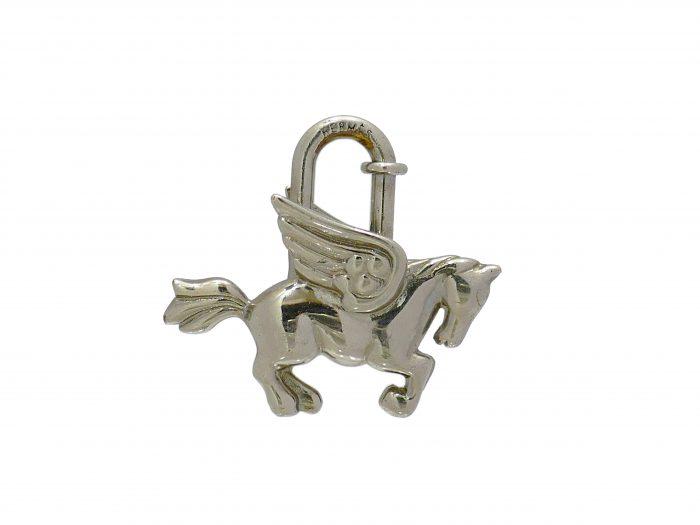 エルメス馬カデナ銀 (1)